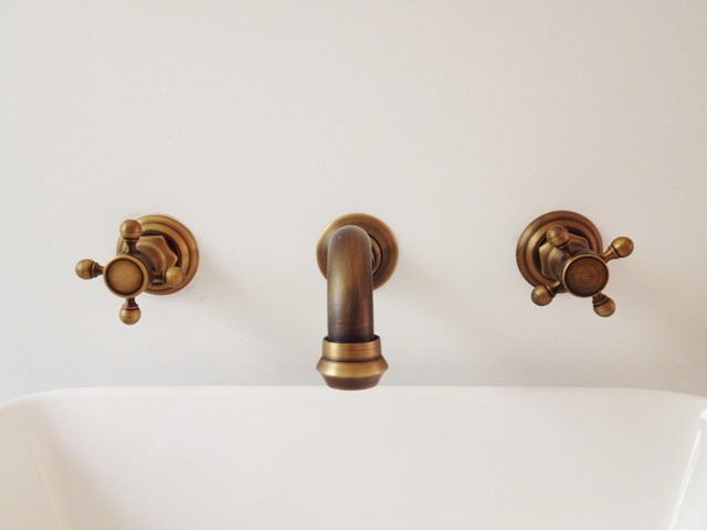 vintage wall mount faucet